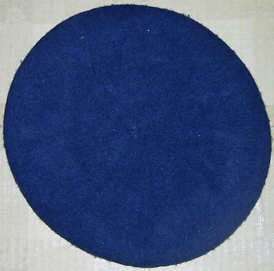 Vietnam South ARVN Local Made River Division Dark Blue Wool Beret