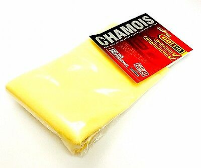 Genuine Real Leather Chamois Oil Tanned Cloth Chammy Car Drying & Cleaning.