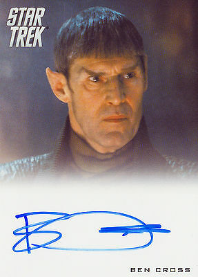 2014 Star Trek Movies Autograph Card Ben Cross As Sarek