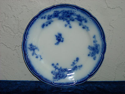 Grindley Marechal Neil Flow Blue Bread and Butter Plate