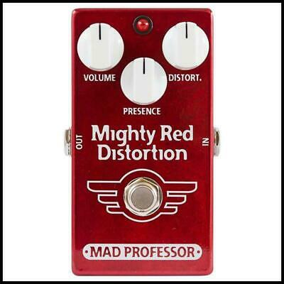 Mad Professor Mighty Red Distortion Guitar Effects Pedal PCB Version