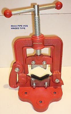 PIPE VICE 60mm - WITH HINGED SIDE ENTRY - BRAND NEW