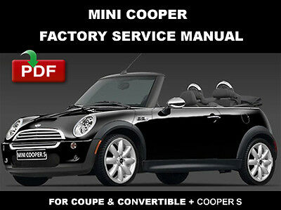 mini cooper coupe s 2007 2008 factory service repair. Black Bedroom Furniture Sets. Home Design Ideas