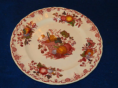20cm ASSIETTE teller PLATE Mason's Patent Ironstone china FRUIT BASKET england