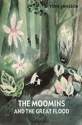 Moomins and the Great Flood by Tove Jansson (English) Hardcover Book Free Shippi