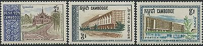 CAMBODGE N°203/205*  Universités 1968, CAMBODIA Universities Sc#188-190 MLH