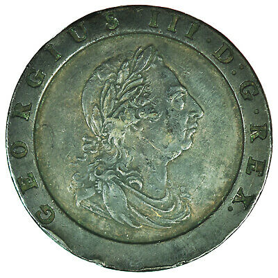 1797 George III Cartwheel Twopence - High Grade (4)