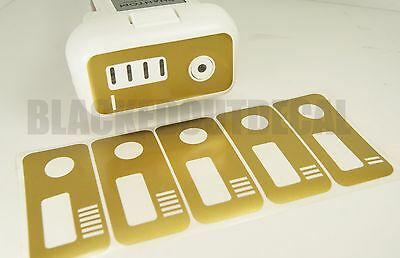 DJI Phantom Gold Battery Skin Stickers 1-6 Graphic Wrap Decal 1 2 3 p3 design 2