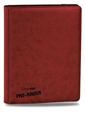 Ultra Pro PRO-Binder Premium RED Rot OVP Ordner 9-Pocket Album Matt 84195
