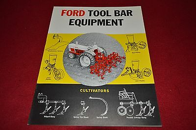 Ford Tractor Tool Bar Equipment Dealer's Brochure LCPA3