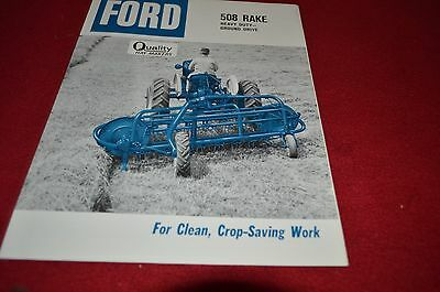 Ford Tractor 508 Rake Dealer's Brochure LCPA3