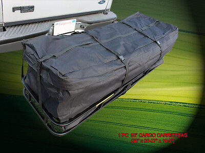 Expendable 58' Cargo Carrier Bag Water Proof Hitch Mount Luggage Roof Top Rack