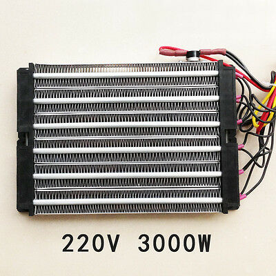 Surface-Insulated PTC Electric Heater air heater 3000W ACDC 220V 230*150mm