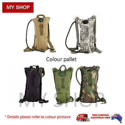 New Style 3L Hydration System Water Bag Backpack Bladder -Camping, Climbing