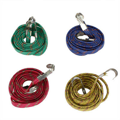Elastic Stretchy Nylon Bungee Luggage Cord Strap Rope for Bicycle Motorcycle