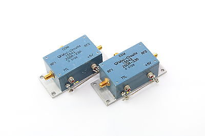 Mini Circuits ZSDR-230 SPDT Pin Diode Coaxial RF Switch Wide Range 10-3000MHz