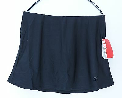 Wilson Performance Rock Funktions-Skirt schwarz, Tennisrock mit Innenhose