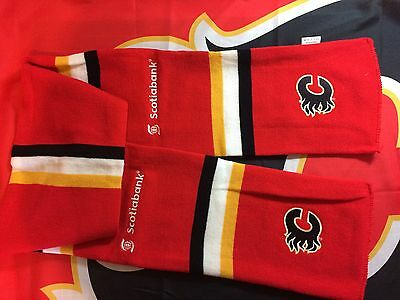 NHL 2012 Calgary Flames Home opener Collectors Limited Scarf