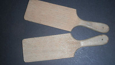 Vintage Wooden Butter Pats Dairy Kitchenalia