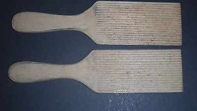Vintage Wooden Butter Pats Dairy Kitchenalia Made In Norway