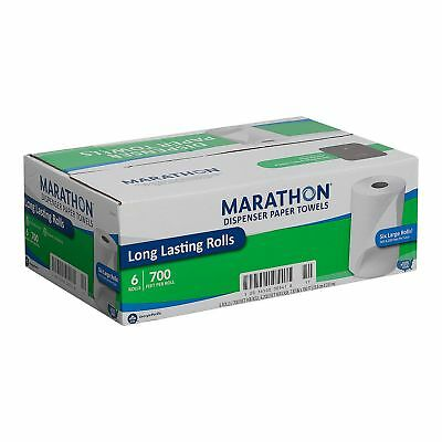 MARATHON DISPENSER ROLL HAND PAPER TOWELS 700 FT 6 ROLLS - Free Shipping