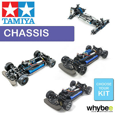 New Tamiya Radio Control R/c Chassis Only - Use As Base To Build Full Car!