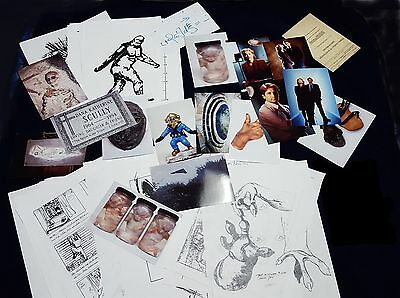 ** The X-FILES Production Artwork and Materials ** Lot #1