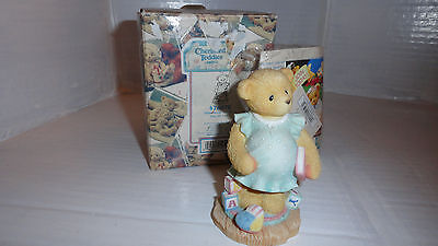 Cherished Teddies Anxiously Awating the Arrival 476978
