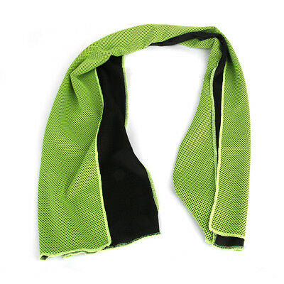 Green Ice Cold Cooling Towel Cycling Running Jogging Gym Sports Keep Cool