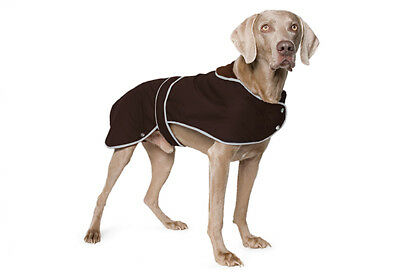 Ancol All Weather Timberwolf Extreme Wax Dog Puppy Winter Rain Jacket Coat Brown