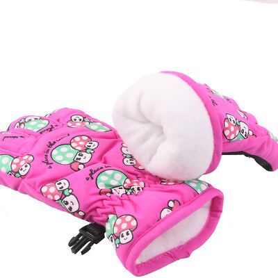 2-4 years Kids Children Windproof Waterproof Ski Snow Sports Warm Gloves