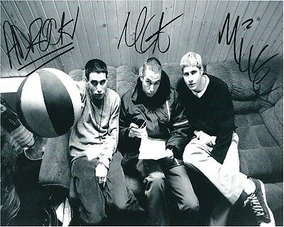 Beastie Boys Entire Band Signed 8x10 Autographed Photo Reprint