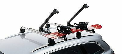Genuine Audi Universal Ski & Snowboard Holder Small 4 Pairs or Skis or 2 Boards
