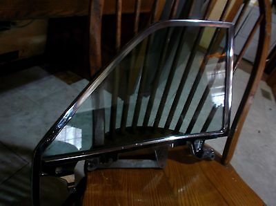 Rare 1963 1964 Cadillac Convertible Rear Quarter Glass Window And Frame