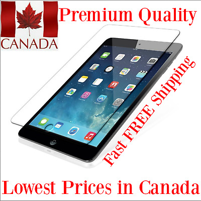 Premium Tempered Glass Screen Protectors for iPad 2018 A1893 or A1954