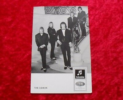 The Lords - Columbia EMI Autogrammkarte Karte Card DrW 3842 c