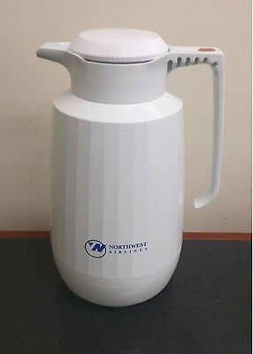 Service Ideas AC101WH 1-Liter Coffee Server, White