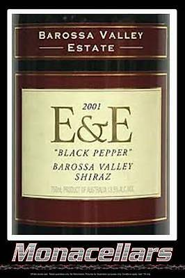 BVE E & E Black Pepper Shiraz 2001 750ml