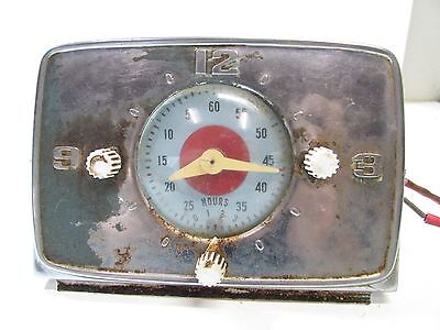 Wedgewood Timer / Clock  From Vintage Gas Stove Model 5-969S-C