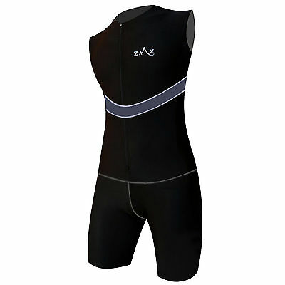 Mens Triathlon Suit / Tri Suit Padded Swimming Cycling Running Yoga Skin Suit