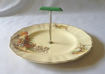 Vintage C1950's J&g Meakin Cake / Sandwich Serving Stand - 1851 - 1951 Centenary
