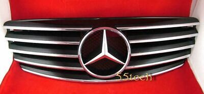MERCEDES BENZ W220 S430 S500 Grill grille S55 03~06 Black 5