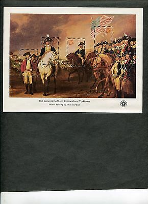 {BJ stamps} #1686-1689  4 Bicentennial Souvenir Sheets 1976.  Mint NH set of 4