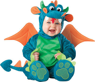 Costume Carnevale Drago Incharacter 0-4T Halloween Baby Costume Dragon 0-4T