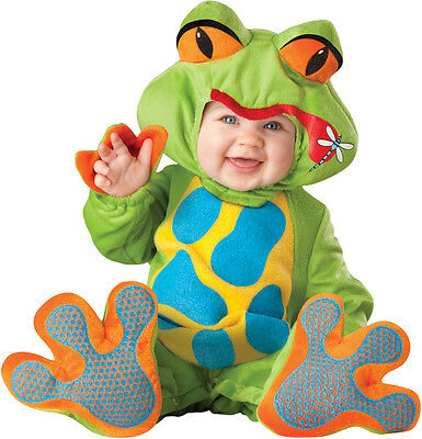 Costume Carnevale Ranocchio Incharacter 0-4T Carnival Baby Costume Froggy 0-4T