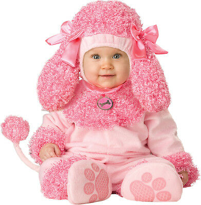 Costume Carnevale Barboncino Incharacter 0-4T Carnival Baby Costume Poodle 0-4T
