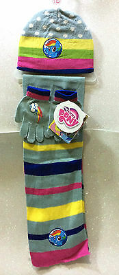 My Little Pony Mio Mini Pony Set Cappello Guanti Sciarpa Hat Gloves And Scarf