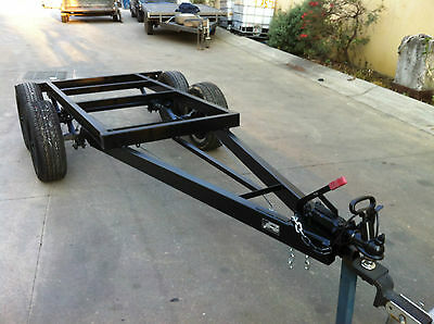 Brand New Tray Top Chassis Tandem Axle  Suit 9X7 Ft Alternative To Box Trailer