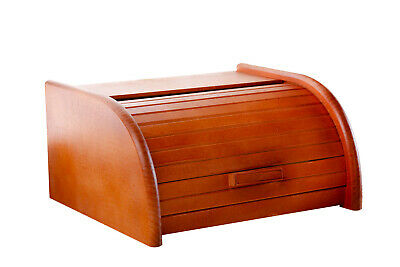 Food & Kitchen Storage Wooden Bread Box Apollo Peewit Roll Top Bin Storage Loaf Kitchen Small Large Bread Bins