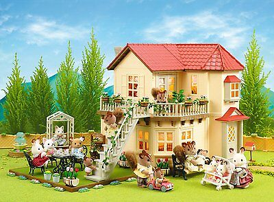 Sylvanian Families Maple Hall Gift Set Figures Kid Accessories Toy House Present